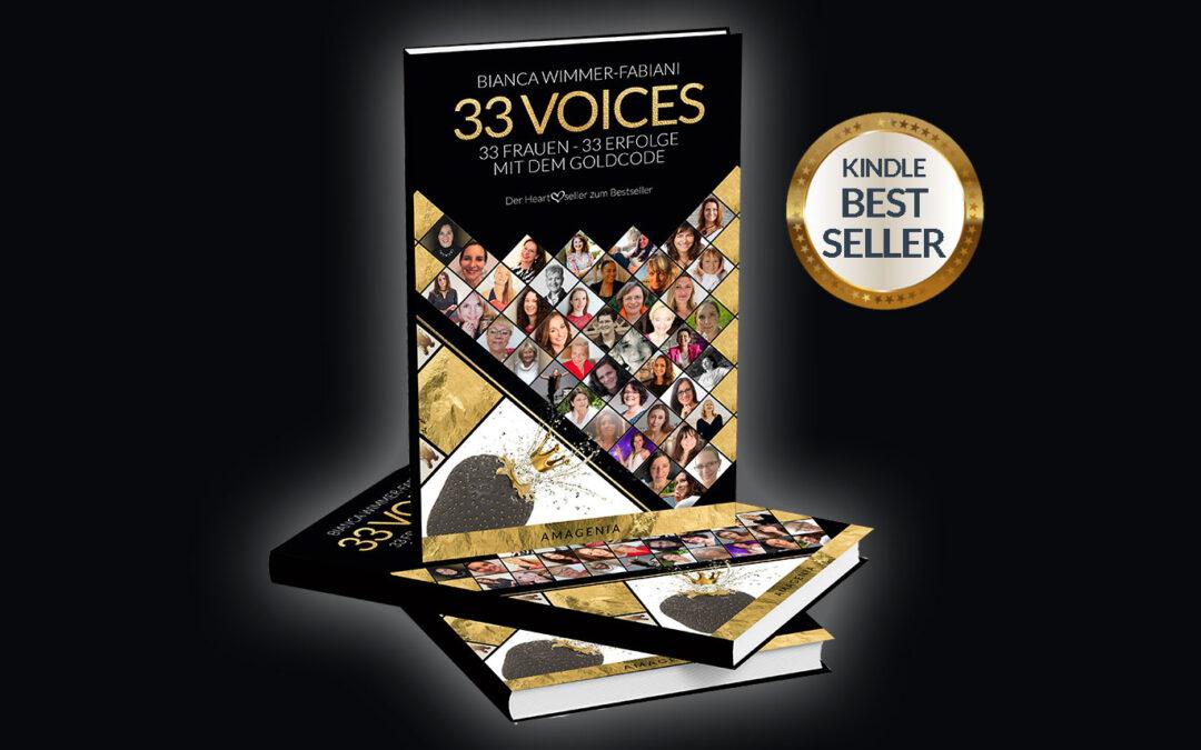 33 VOICES – der 2. Bestseller